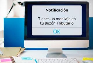 Recibe notificaciones electrónicas en tu Buzón Tributario